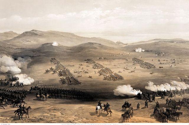 Балаклавское сражение, Крымская война, атака лёгкой кавалерии.