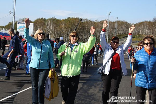 Всего эстафете приняли участие жители 11 часовых поясов.