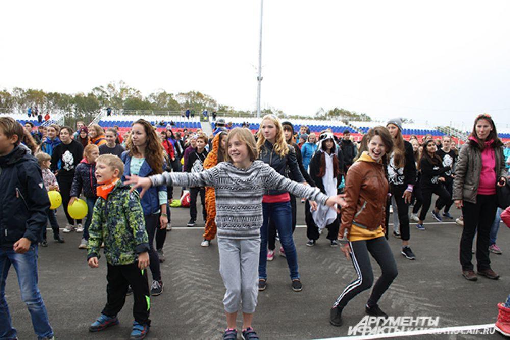 Танцевальный флешмоб «Kamchatka New Life».