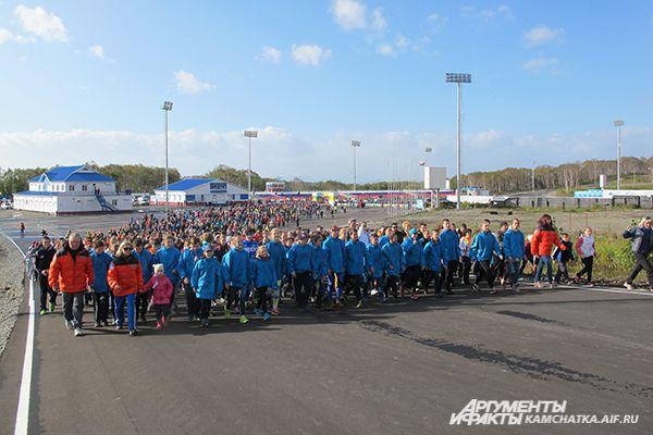 На дистанцию Всемирного дня ходьбы в Петропавловске вышло 6 748 участников.