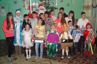 Наш подшефный детский дом в посёлке Ольга.