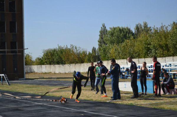 Заключительным этапом спортивных испытаний стало боевое развёртывание.