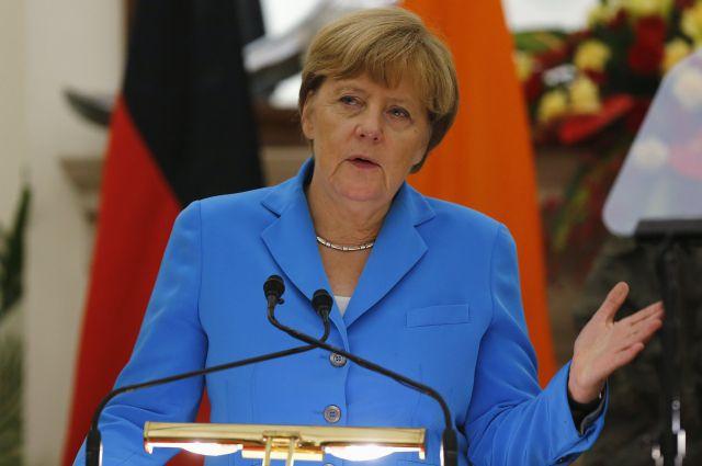 Ангела Меркель, канцлер Германии.