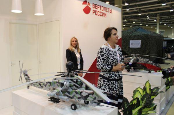 Вертолёты России «Ми-35 М» и «МИ-28 НН».