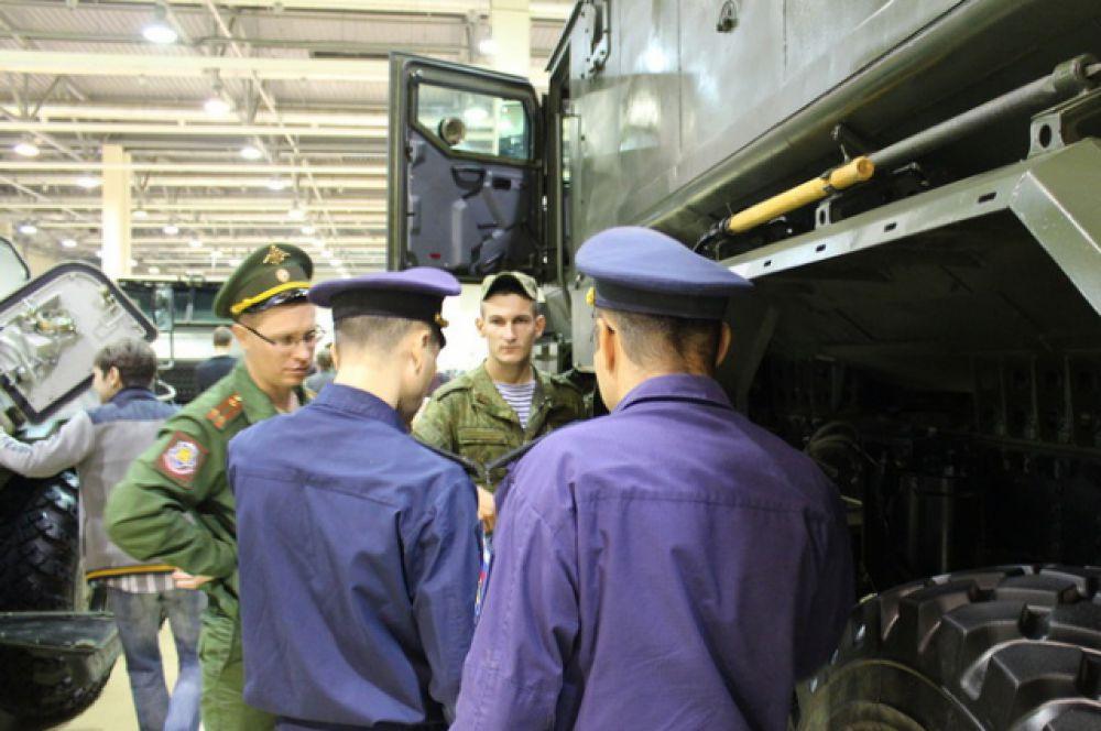 Автомобиль «Урал» 63095 «Тайфун –У».
