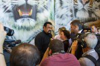 Известный актер Стивен Сигал посетил Центр «Амурский тигр».