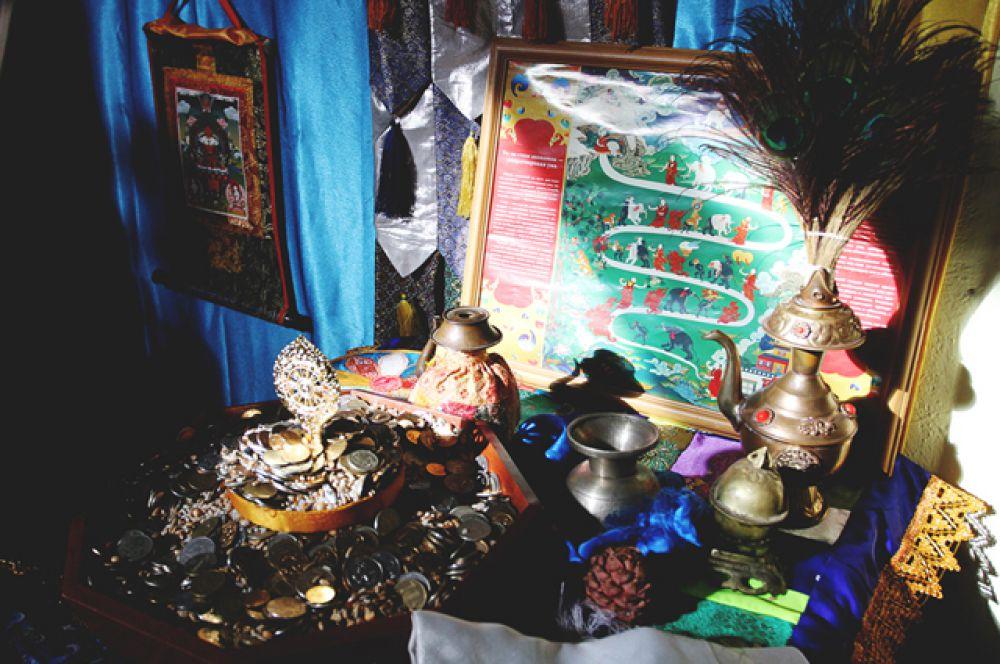 Ритуал Жинсрег (второе название Огненной Пуджи) также называют подношением хозяину огня.