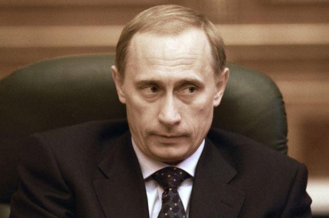 Владимир Путин, 1999 год.