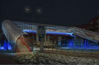 Проект подсветки переходного перехода.