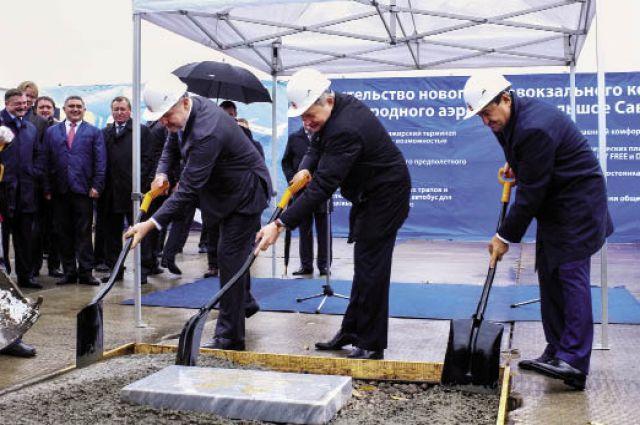 Начало положено. В Перми дали старт строительству нового аэровокзального комплекса.