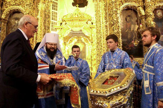 Рыцарский дар. Мальтийский орден передал Смоленску мощи 12 апостолов