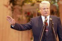Первый президент России Борис Ельцин.