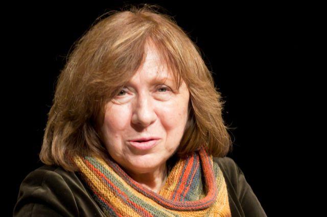 «Нобелевку» по литературе получила Светлана Алексиевич из Белоруссии