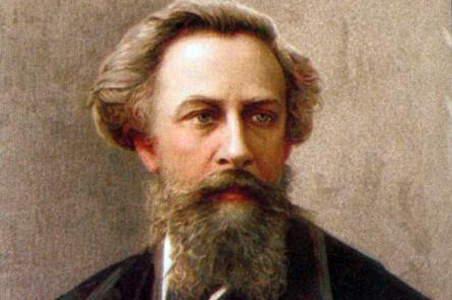 Алексей Константинович Толстой, портрет.
