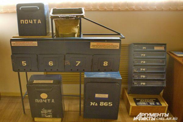 Модели почтовых ящиков.