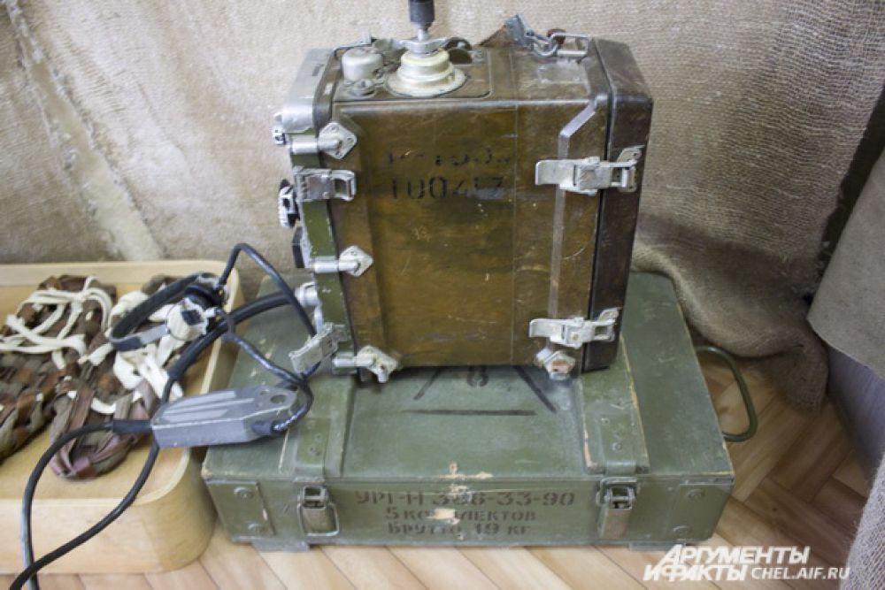 Военно-полевой телефон, использовался для связи во время ВОВ.