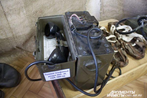Полевой телефонный аппарат ИАА-44 США. 1944 год.