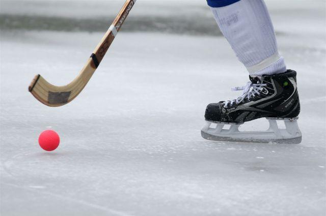 Хоккей с мячом.