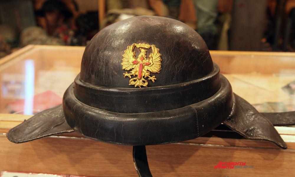 Шлем итальянского солдата