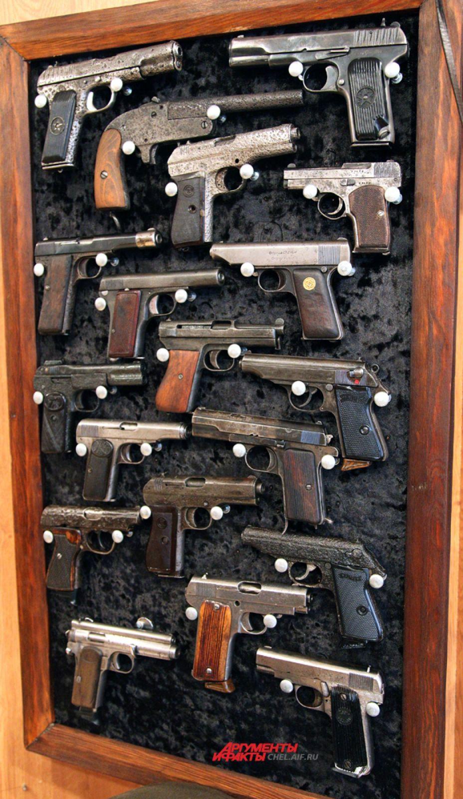 Пистолеты времён ВОВ