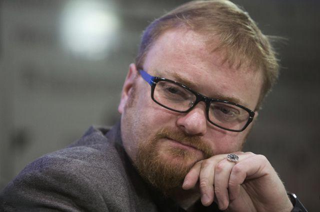 Депутат Законодательного собрания Санкт-Петербурга Виталий Милонов. 2014 год.