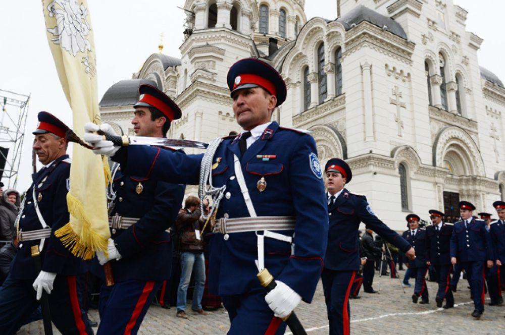Напомним, что 9 мая 2015 года казаки впервые за 70 лет прошли по Красной площади.