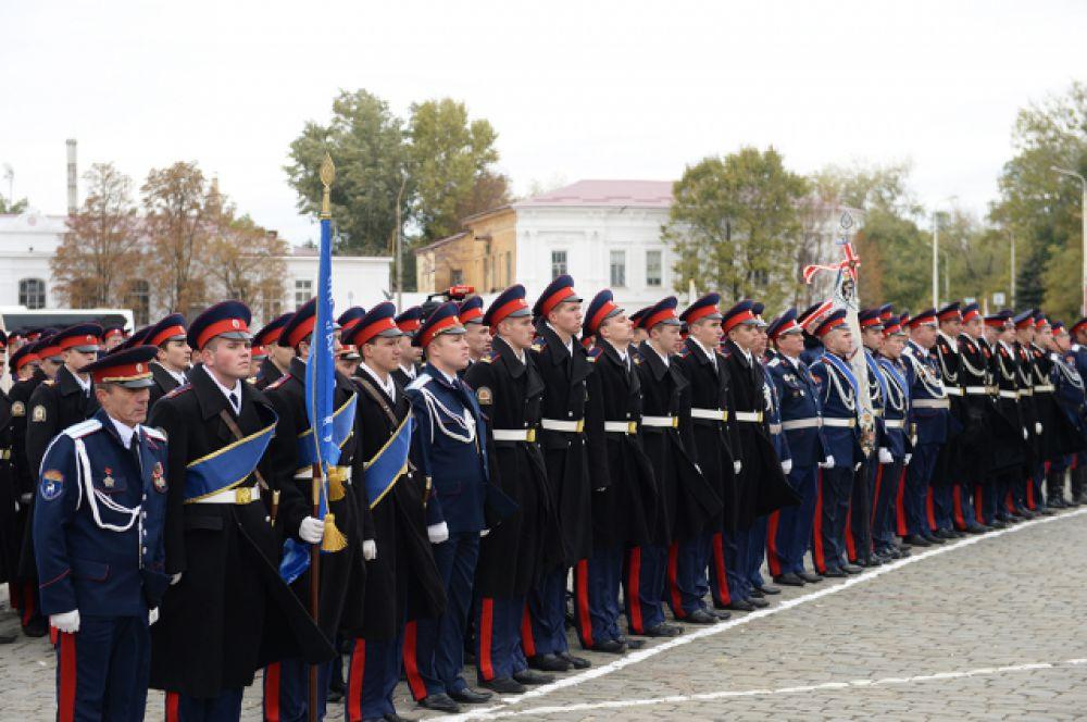 Мероприятие также было организовано в рамках V Всемирного конгресса казаков и посвящено празднику Покрова Пресвятой Богородицы.