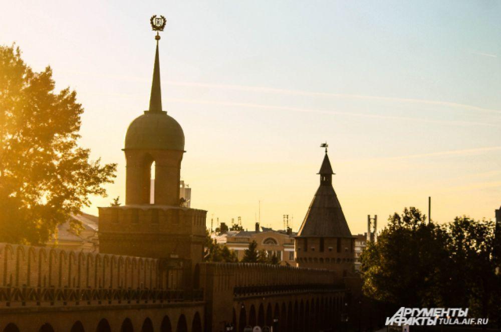 Вид на Одоевскую башню.