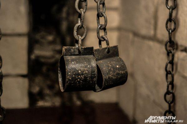 Пыточная в Никитской башне.