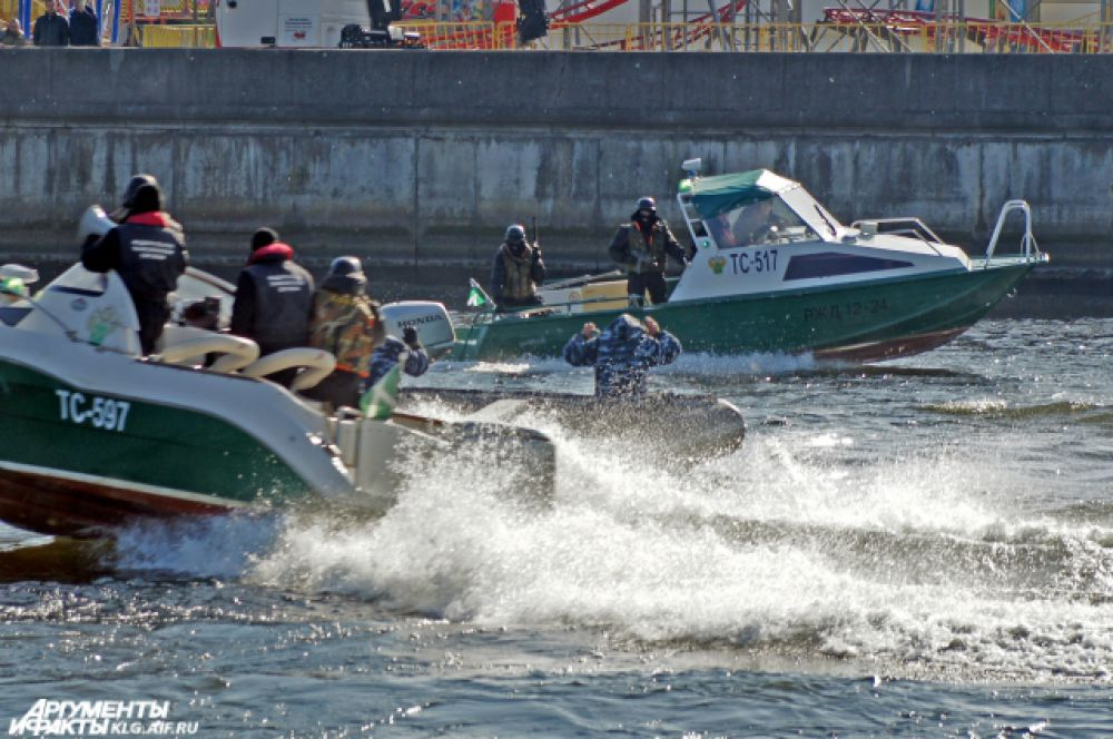 Задержание «контрабандистов» отрядом быстрого реагирования.