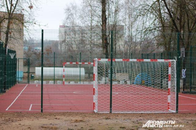 На новых спортивных площадках найдется место любому виду спорта.