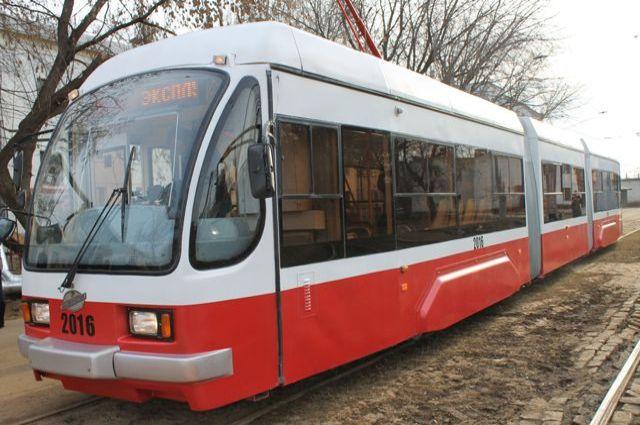 Движение трамваев №1, №27 и