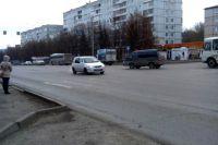 Перекресток «проспект Ленина - улица Ворошилова».