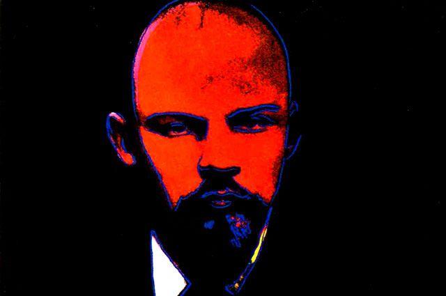 Энди Уорхол. «Черный Ленин», 1987 год