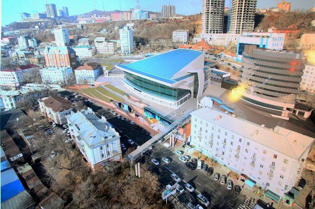 Так будет выглядеть новое здание цирка.