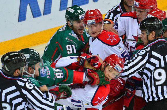 В прошлом сезоне «армейцы» попали в тройку лидеров КХЛ