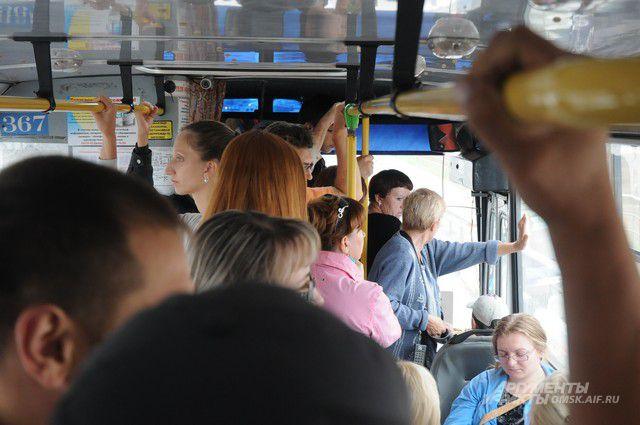 Два автобусных маршрута в
