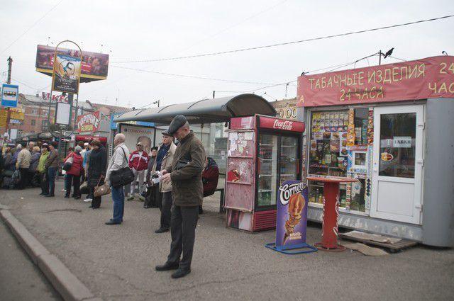 132 торговых киоска в Ленинском округе установлены нелегально.