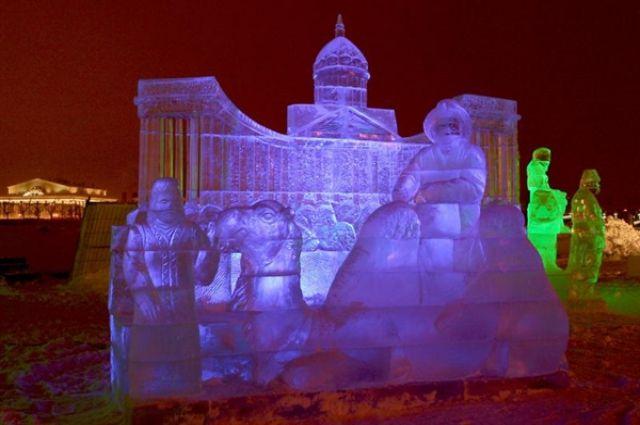 Пермский новогодний ледовый