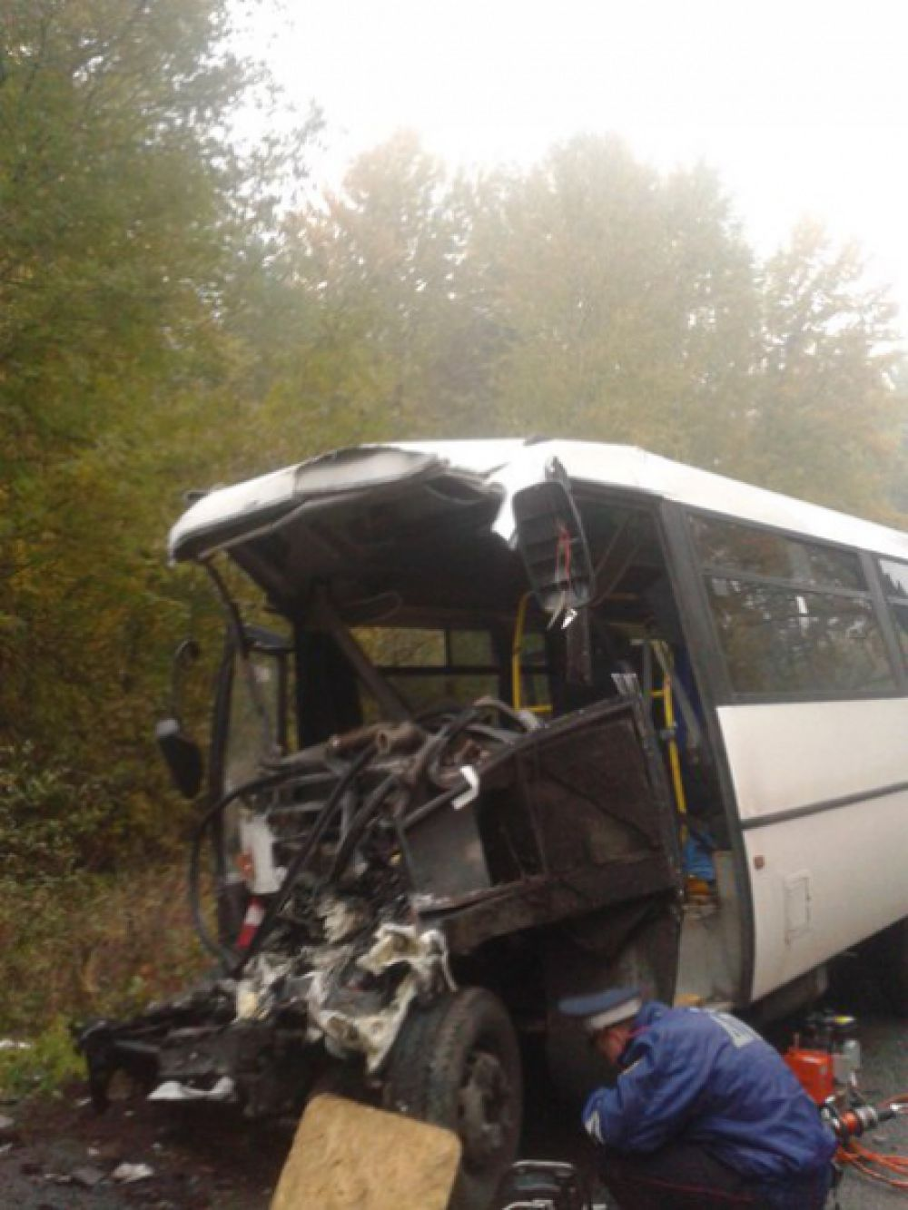 Авария на трассе Калининград-Черняховск.