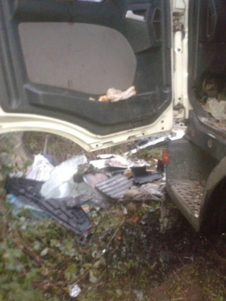 За рулем грузовика был 26-летний мужчина.