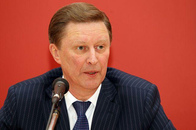 Руководитель администрации президента РФ Сергей Иванов.