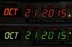 Именно дата 21 октября 2015 года стояла на панели управления машиной времени