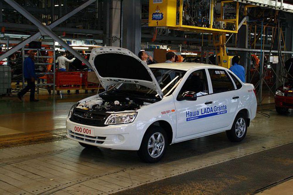 Lada Granta седан – 360 тысяч рублей