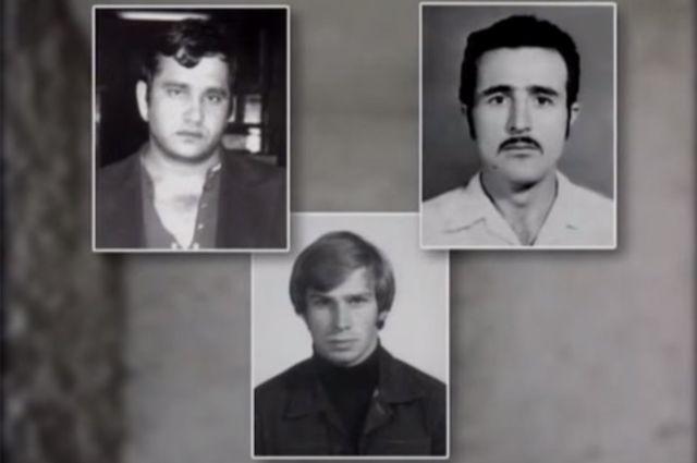 Николай Калачян (слева), Феликс Калачян (справа), Владимир Кузнецов (снизу).