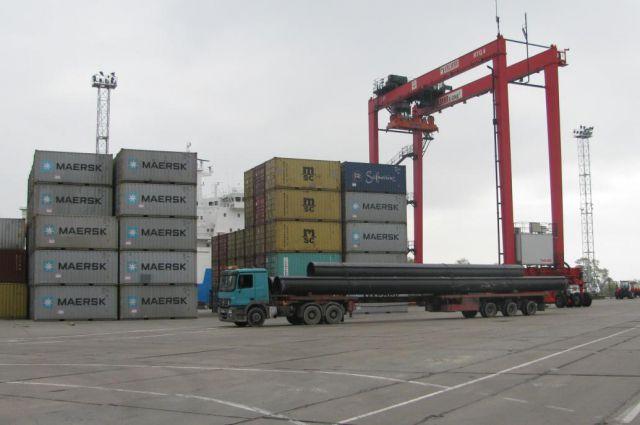 В Балтийске готовят к открытию новый пункт досмотра контейнеров