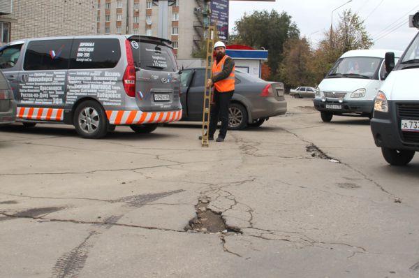 Улица Рябикова - здесь есть, где разгуляться инспекции.