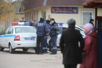 Полиция оцепила деревню Тимошкино, где может скрываться Амиран Георгадзе.