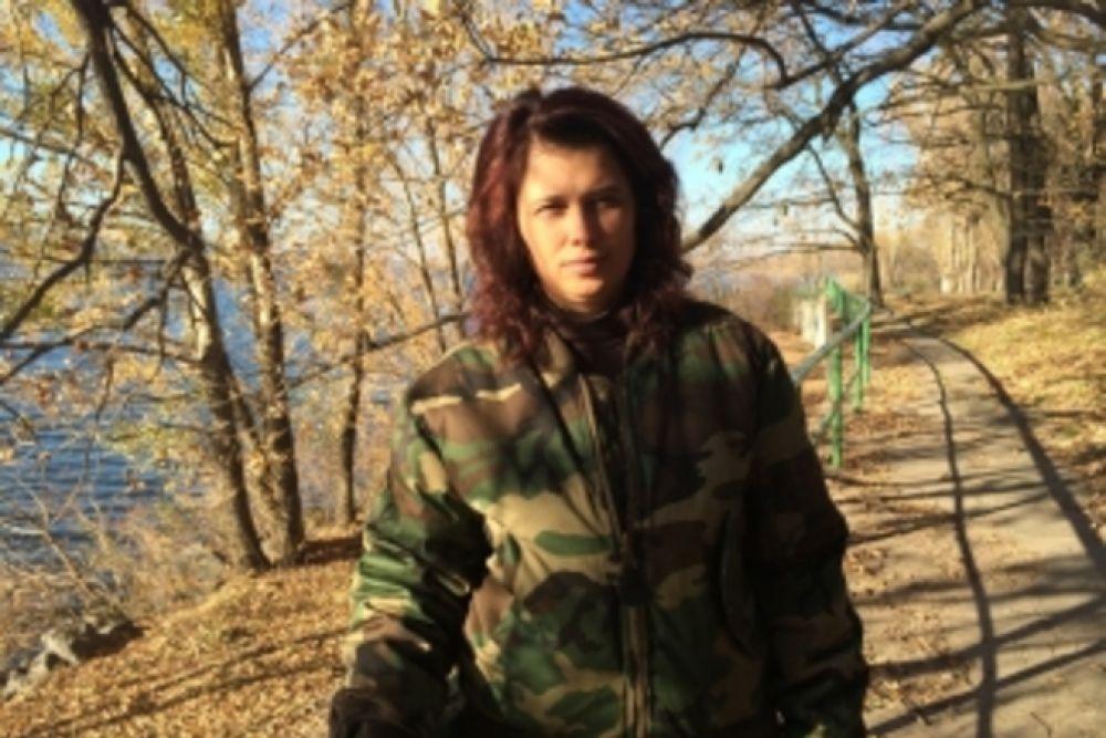 Волонтер Алла Борисенко