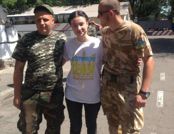 Волонтер Анастасия Приходько